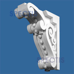 """Spectis 23-1/16"""" x 24-1/8"""" x 7-1/2"""" Decorative White Poly Block"""