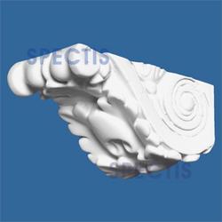 """Spectis 2-7/8"""" x 1-3/8"""" x 1-3/8"""" Decorative White Poly Block"""