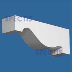 """Spectis 21-1/2"""" x 7-1/2"""" x 5-1/2"""" Smooth White Poly Block"""
