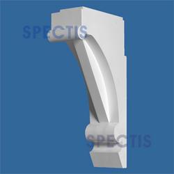 """Spectis 10-5/8"""" x 19-1/4"""" x 4-1/2"""" Decorative White Poly Block"""