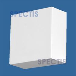 """Spectis 6-3/8"""" x 1-1/2"""" x 3-1/4"""" Smooth White Poly Block"""