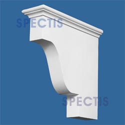 "Spectis 12"" x 12"" x 3-1/2"" Smooth White Poly Block"