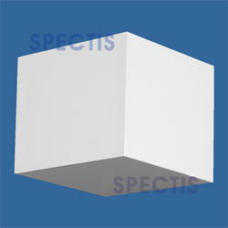 "Spectis 10"" x 8-1/2"" x 10"" Smooth White Poly Block"