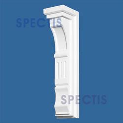 """Spectis 6"""" x 22-1/2"""" x 5"""" Decorative White Poly Block"""