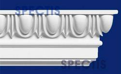 "Spectis 2-7/8"" x 5-7/8"" x 12' Decorative White Poly Moulding"