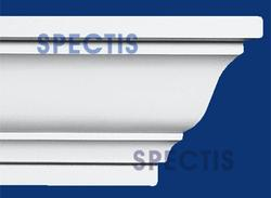 """Spectis 6-1/8"""" x 7-5/8"""" x 12' Smooth White Poly Moulding"""