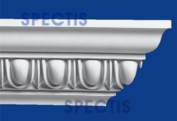 "Spectis 6"" x 6"" x 11' 7"" Decorative White Poly Moulding"