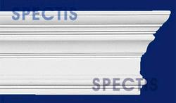 "Spectis 2-1/16"" x 5-9/16"" x 12' Decorative White Poly Moulding"