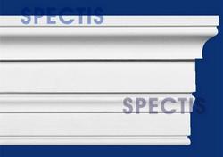 "Spectis 1-3/4"" x 14-3/4"" x 12' Decorative White Poly Moulding"