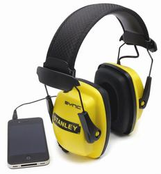 Stanley® Sync Hearing Protector with MP3 Connection