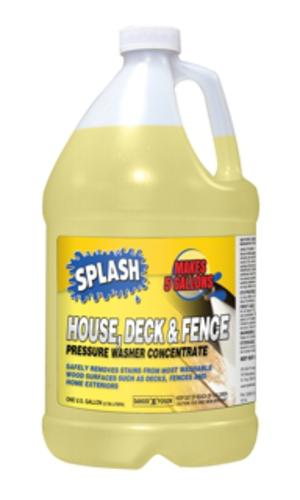 Splash 174 House Deck And Fence Pressure Washer Cleaner At