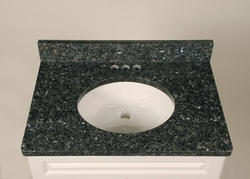 "Tuscany 25"" x 22"" 3 CM Granite Vanity Top"