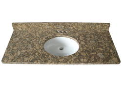 "Tuscany 49"" x 22"" 3 CM Granite Vanity Top"