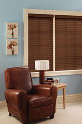 "Window Images Faux Wood Blind 48"" x 48"""