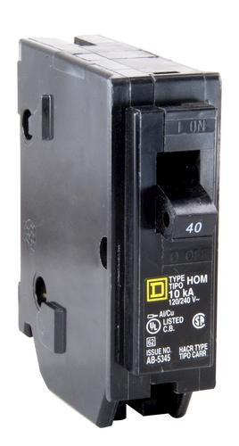 square d™ homeline™ 40 amp, 120/240-volt ac single pole ... 40 amp 240 volt receptacle diagram #2
