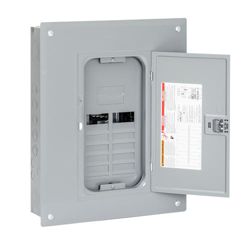 Leviton Enters Residential Load Center Market: Homeline Plug-on Neutral Ready 125 Amp 12-Space 24-Circuit