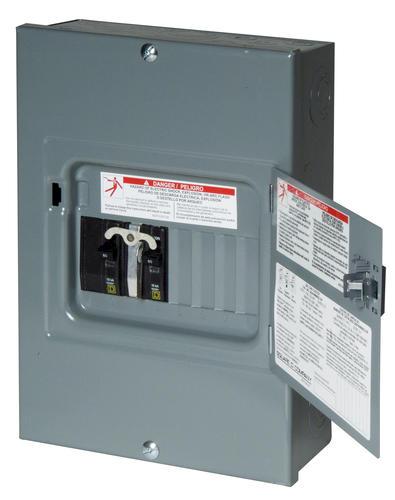Square D™ 60 Amp, 120/240-Volt AC, Generator Panel at Menards®