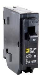 Square D™ Homeline™ 40 Amp, 120/240-Volt AC Single Pole Circuit Breaker