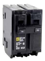 Square D™ Homeline™ 70 Amp, 120/240-Volt AC 2-Pole Circuit Breaker