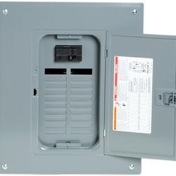 Square D™ QO™ 100 Amp, 16 Space/16 Circuits Indoor Main Breaker Load Center