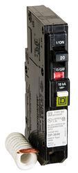 Square D™ QO™ 20 Amp, 120-Volt AC Combination Arc Fault Breaker