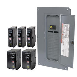 Square D™ QO™ 100 Amp, 32 Space/32 Circuits Indoor Main Breaker Load Center Value Pack