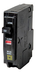 Square D™ QO™ 50 Amp, 120/240-Volt AC Single Pole Circuit Breaker