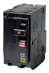 Square D™ QO™ 25 Amp, 120/240-Volt AC 2-Pole Circuit Breaker