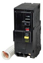 Square D™ QO™ 30 Amp, 120/240-Volt AC 2-Pole Ground Fault Circuit Breaker