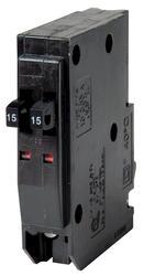 Square D™ QO™ 15 Amp, 120/240-Volt AC Tandem Circuit Breaker