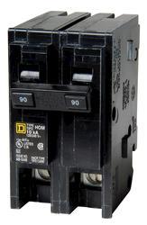 Square D™ Homeline™ 90 Amp, 120/240-Volt AC 2-Pole Circuit Breaker