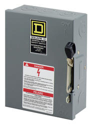 Square D™ 30 Amp Indoor General Duty Safety Switch