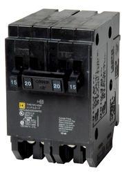 Square D™ Homeline™ 20 Amp, 120/240-Volt AC Quad Tandem Circuit Breaker