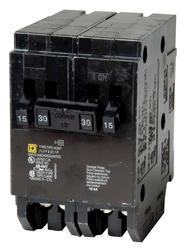 Square D™ Homeline™ 30 Amp, 120/240-Volt AC Quad Tandem Circuit Breaker