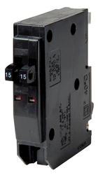 Square D™ QO™ 15 Amp, 120/240-Volt AC Tandem Circuit Breaker Replacement