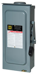 Square D™ 60 Amp Outdoor General Duty Safety Switch