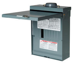 Square D™ QO™ 100 Amp, 8 Space/16 Circuits Outdoor Main Lug Load Center