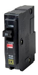 Square D™ QO™ 20 Amp, 120/240-Volt AC Single Pole Circuit Breaker