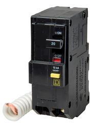 Square D™ QO™ 20 Amp, 120/240-Volt AC 2-Pole Ground Fault Circuit Breaker