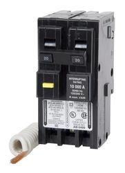 Square D™ Homeline™ 20 Amp, 120/240-Volt AC 2-Pole Ground Fault Circuit Breaker