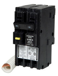 Square D™ Homeline™ 30 Amp, 120/240-Volt AC 2-Pole Ground Fault Circuit Breaker