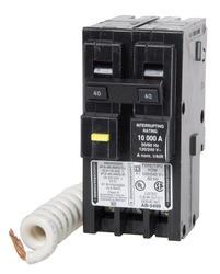 Square D™ Homeline™ 40 Amp, 120/240-Volt AC 2-Pole Ground Fault Circuit Breaker