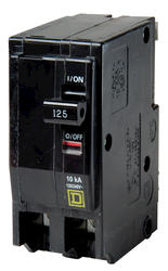 Square D™ QO™ 125 Amp, 120/240-Volt AC 2-Pole Circuit Breaker