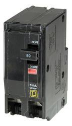 Square D™ QO™ 80 Amp, 120/240-Volt AC 2-Pole Circuit Breaker