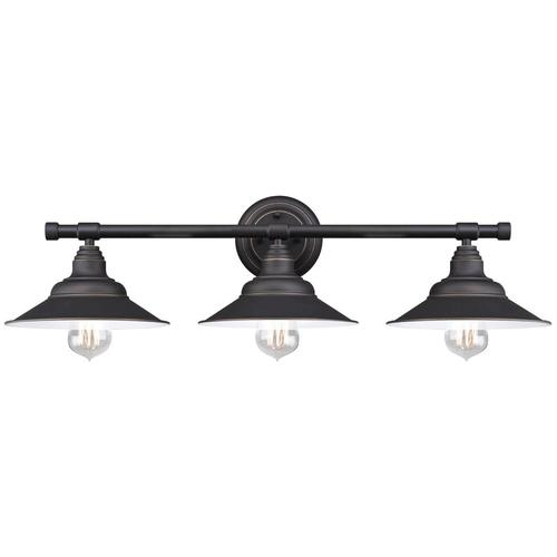 Vanity Lights Oil Rubbed Bronze : Westinghouse Deansen Oil Rubbed Bronze 3-Light Vanity Light at Menards