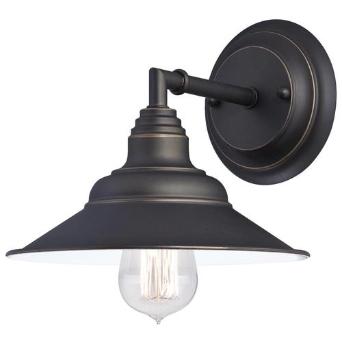 Menards Indoor Wall Sconces : Westinghouse Deansen Oil Rubbed Bronze 1-Light Wall Light at Menards