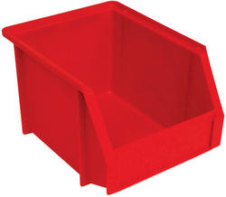 Stack-On® Mini Red Storage Bin
