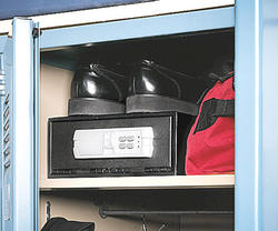 Stack-On Strong Box® 0.31 cu. ft. Capacity Quick Access Safe with Motorized Electronic Lock