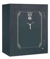 Stack-On Elite® 66-Gun Black Convertible Fire-Resistant Safe with Electronic Lock and Door Storage