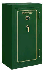 Stack-On® 24-Gun Hunter Green Fire-Resistant Safe with Combination Lock